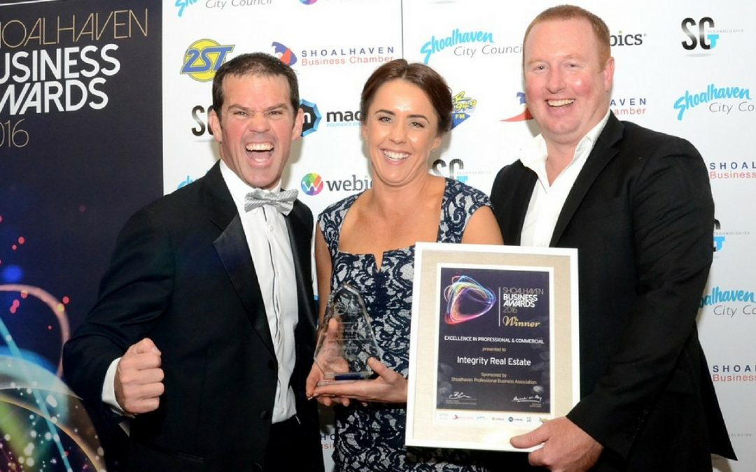 Why Entering or Sponsoring the Awards is Part of Integrity's Business Strategy