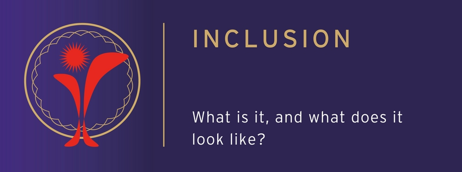 So just what is Inclusion and what does it look like?