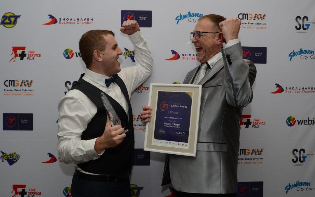 Congratulations to Patrick O'Regan, winner of the Young Business Executive Award