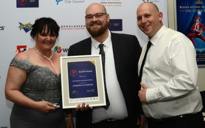 Congratulations to Kimberlie & Co Cleaning, winner of the Outstanding Home Based Business Award