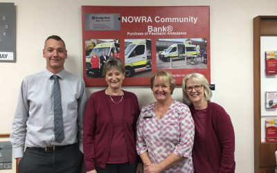 The Nowra Community Bank ® Branch of Bendigo Bank: Excellence in Retail & Personal Services Sponsor
