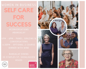 women in business self care shoalhaven