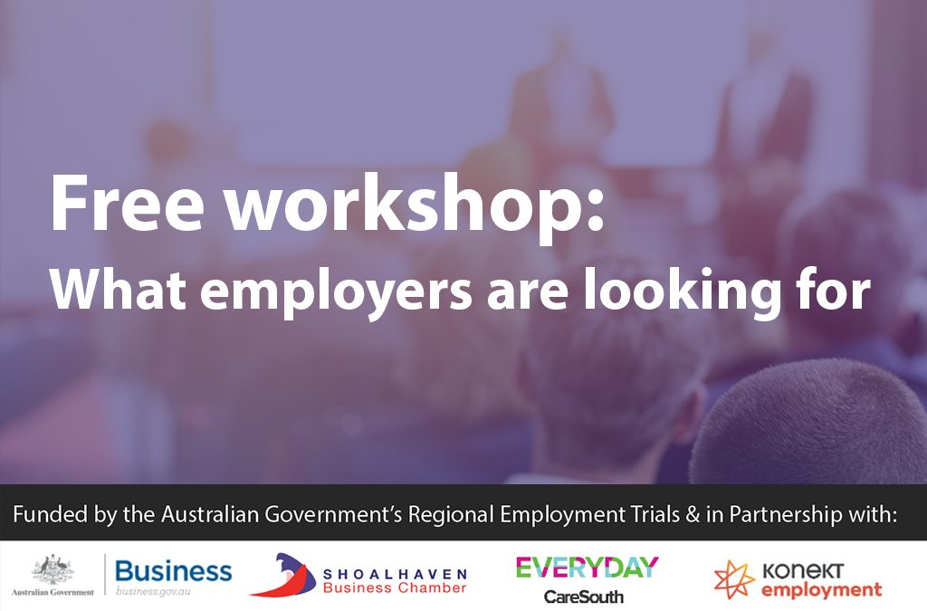What Employers are Looking For – Jobs in the Shoalhaven region